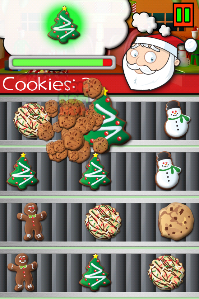 Screenshot Santa's Eatin' Cookies